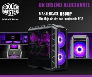 CoolerMaster H500P Mesh White Banner