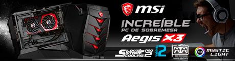 MSI Aegis X3 Banner