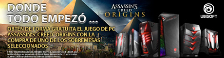 MSI Assassin's creed Sobremesas Banner
