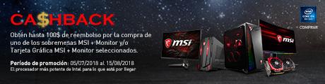 MSI Cashback 6