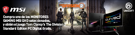 MSI The Division Banner