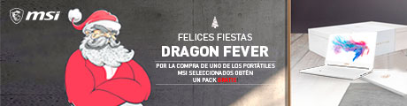 MSI Dragon Fever Xmas Banner