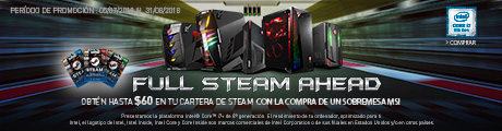 MSI Full Steam Banner