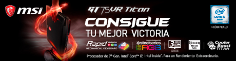 MSI GT75VR Titan Banner