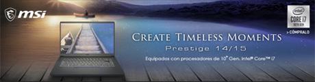 MSI Prestige 14 Banner