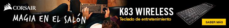 Corsair K83 Banner