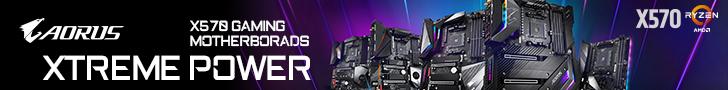 Gigabyte X570 Banner