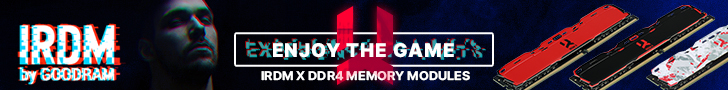 IRDM DDR4 Banner
