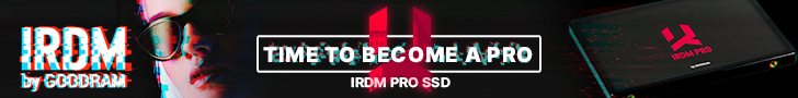 IRDM SSD Banner