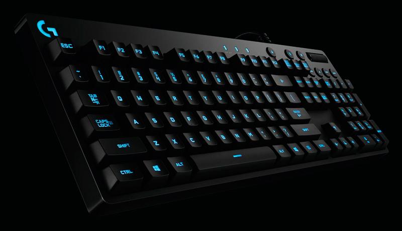 Logitech G810 Orion Spectrum, nuevo teclado mecánico con interruptores Romer-G, Imagen 1
