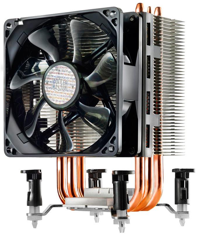 Nuevos disipadores económicos Cooler master Hyper 212X y TX3i, Imagen 1
