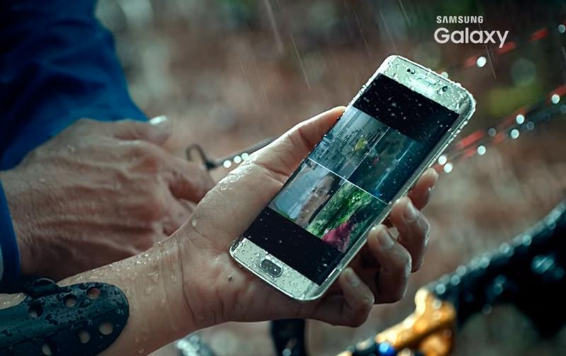 Samsung se adelanta y muestra el Galaxy S7 Edge en vídeo, Imagen 1