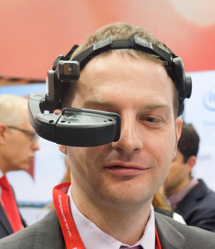 Fujitsu nos enseña sus gafas de realidad aumentada para usos industriales, Imagen 2