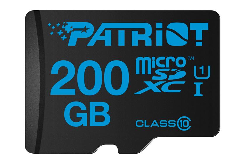 Patriot lanza  nuevas tarjetas microSDXC con 200 GB de capacidad, Imagen 1