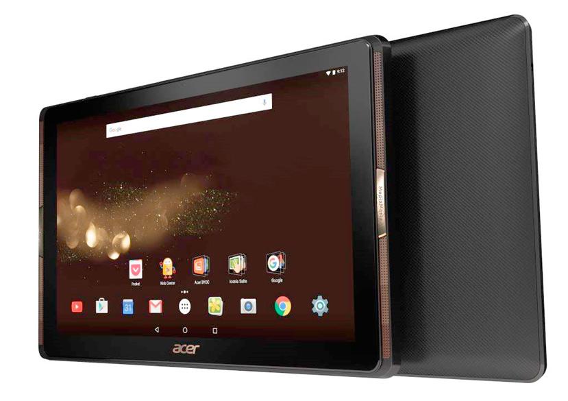 Acer presenta su tablet Iconia Tab 10 con 4 altavoces frontales, Imagen 1
