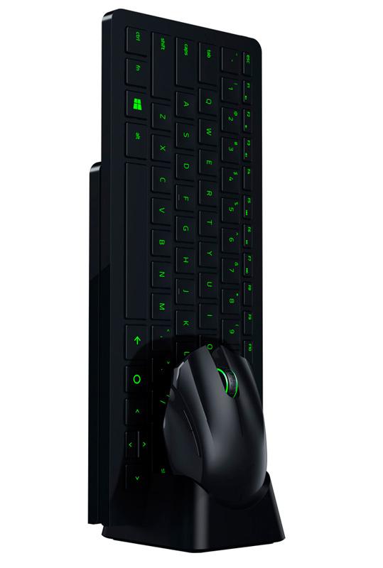 Razer Turret Lapboard, un ratón y un teclado inalámbricos con alfombrilla incorporada , Imagen 2