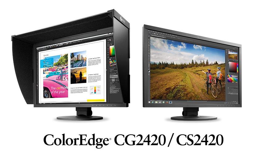 Nuevos monitores profesionales Eizo ColorEdge CG24020 y CS2420, Imagen 1