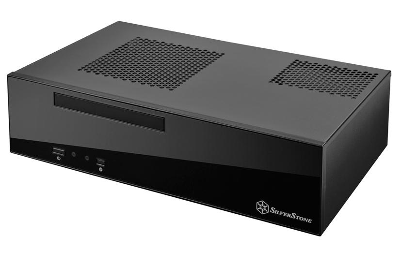 SilverStone Milo ML09, nueva torre Mini-ITX para HTPC, Imagen 1