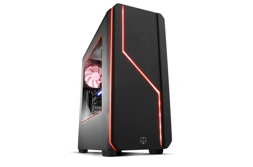 NOX Hummer MC, una torre gaming con iluminación LED multicolor por menos de 50 euros., Imagen 1
