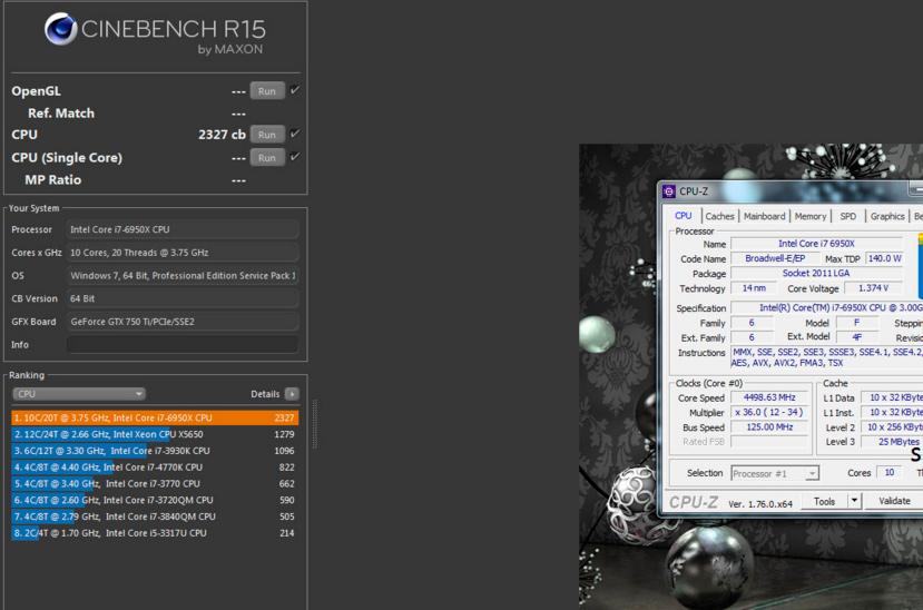 Primeras pruebas del Intel Core i7-6950X, el procesador doméstico más potente del mundo, Imagen 1