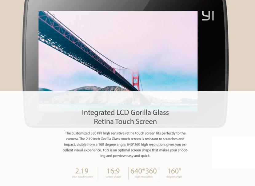 La cámara de acción Xiaomi Yi se pone al día con una versión 4K, Imagen 2