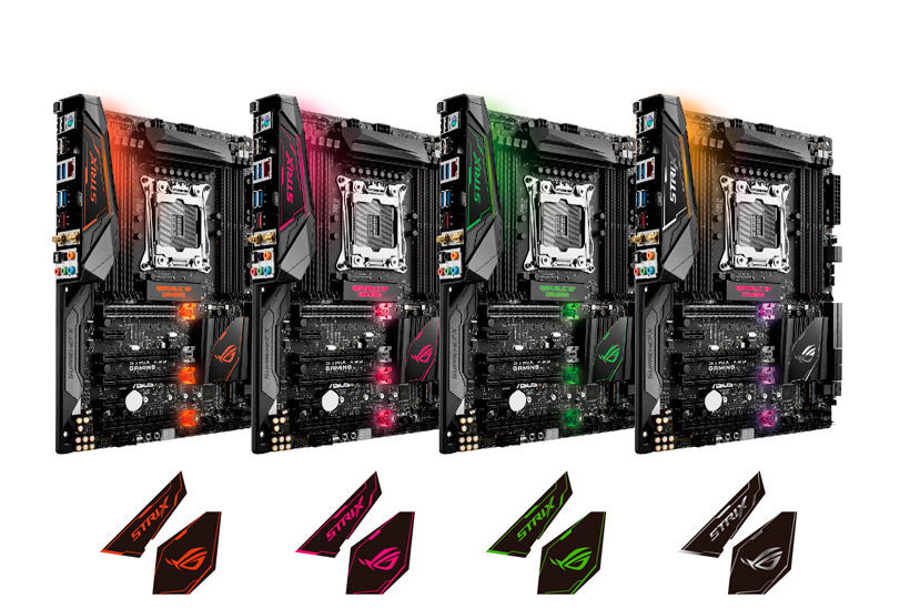 ASUS  combina las gamas ROG  y STRIX en la nueva placa ROG STRIX X99 Gaming, Imagen 2