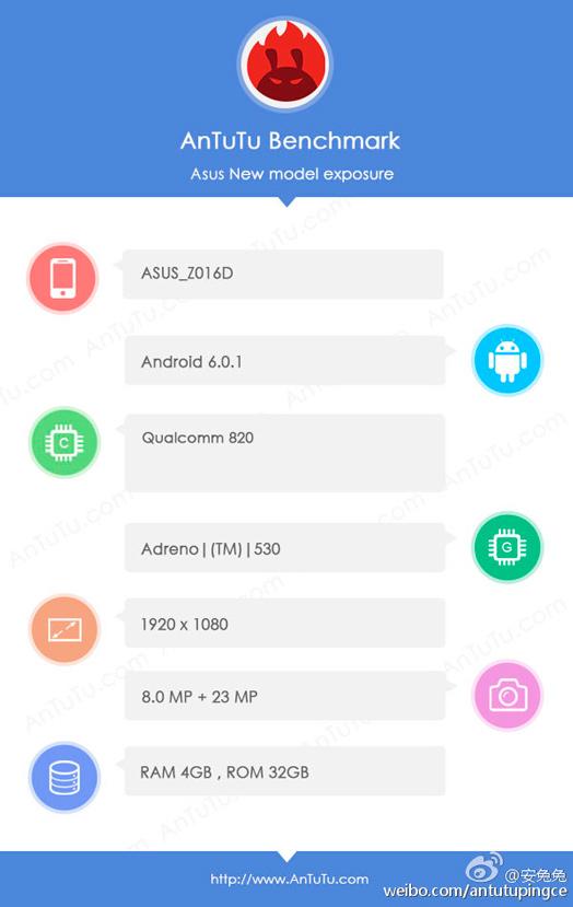 Avistado un ASUS Zenfone 3 con Snapdragon 820, 4 GB de RAM y cámara de 23 Megapíxeles, Imagen 2