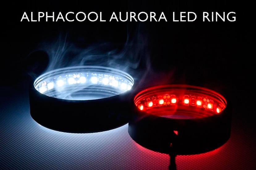 Alphacool quiere que ilumines tu depósito de RL con su anillo de LEDs Aurora , Imagen 1