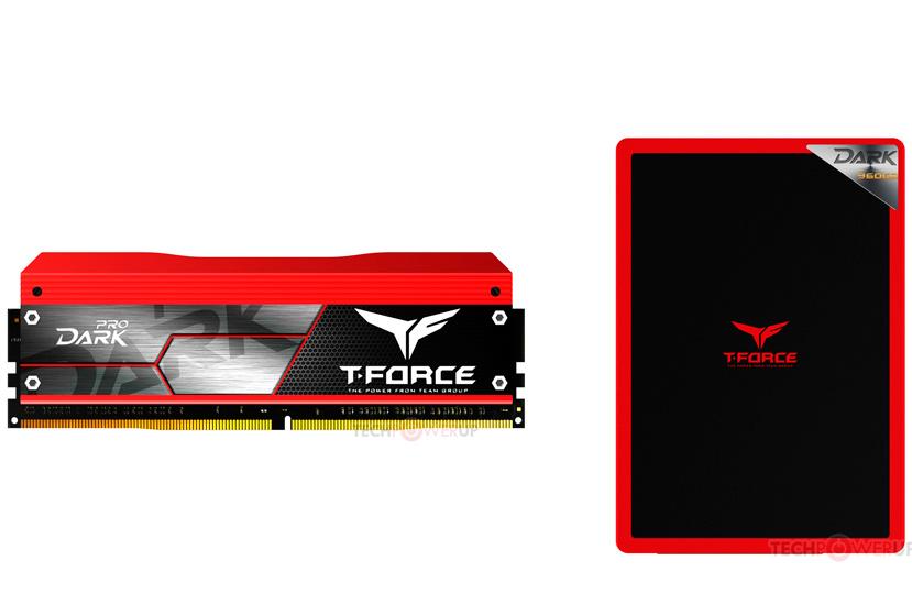 Team Group estrena su gama T-Force de memorias DDR4 y SSD, Imagen 1
