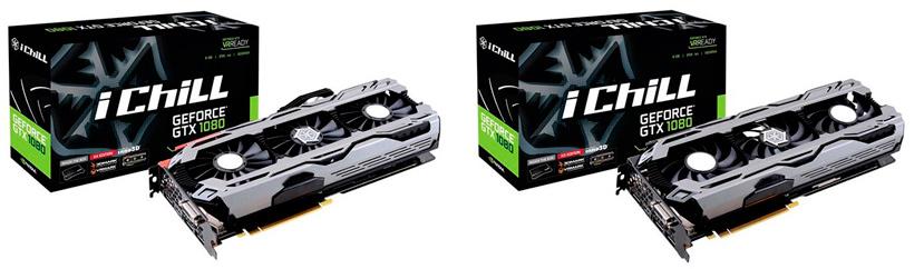 Nuevas GTX 1080 iChill X3 y X4 de Inno3D , Imagen 1