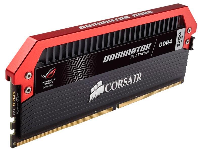 Nuevas memorias DDR4 Corsair Dominator Platinum ROG Edition, Imagen 1
