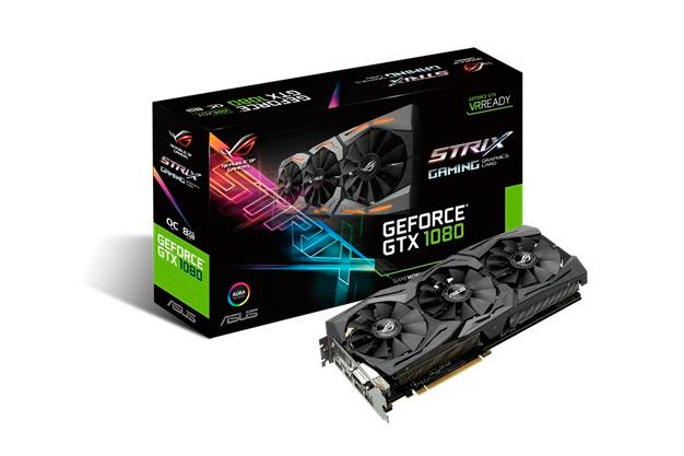 ASUS ROG Strix GeForce GTX 1080, Imagen 1
