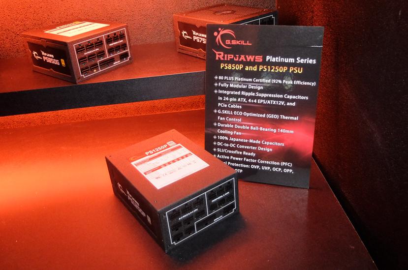 Nuevas fuentes 80 PLUS Platinum G.SKILL Ripjaws PS, Imagen 1