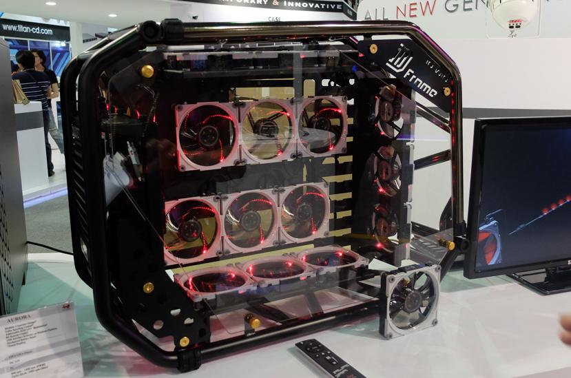 Nuevos ventiladores In Win Aurora con control remoto y conectores modulares, Imagen 1