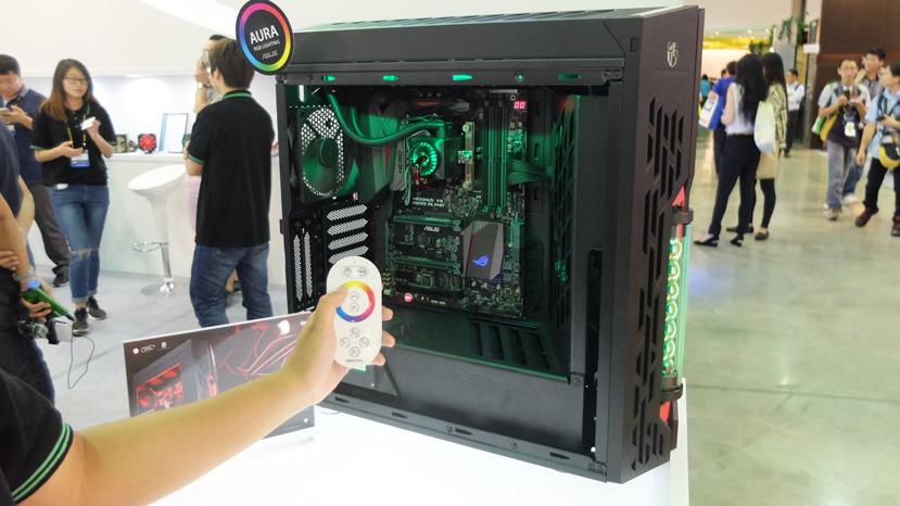 DeepCool Genome ROG: una torre con refrigeración líquida integrada y estética ASUS ROG, Imagen 2