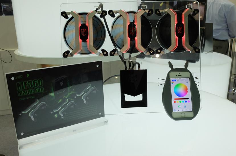 DeepCool MF360, ventiladores RGB con control vía smartphone, Imagen 1