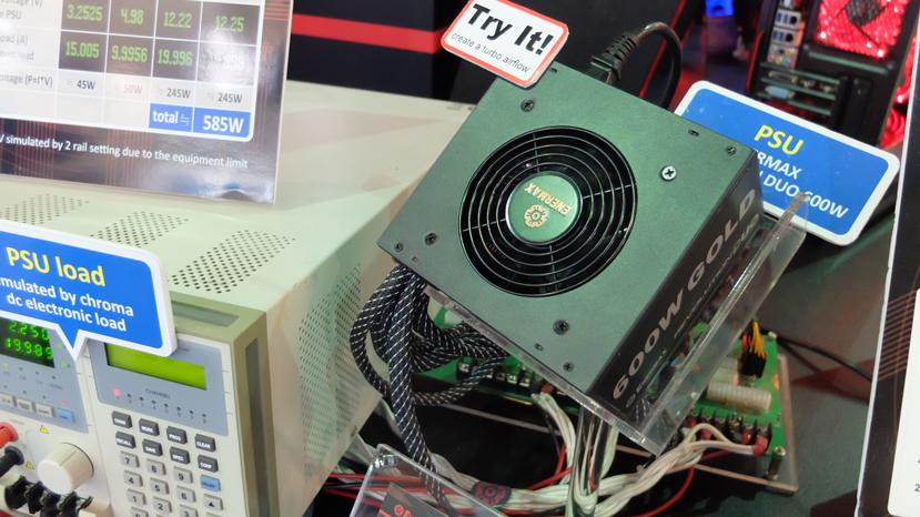 Nuevas fuentes Enermax Revolution DUO con dos ventiladores, Imagen 1