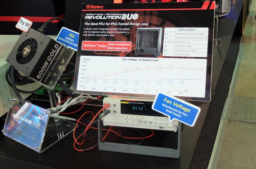 Nuevas fuentes Enermax Revolution DUO con dos ventiladores, Imagen 2