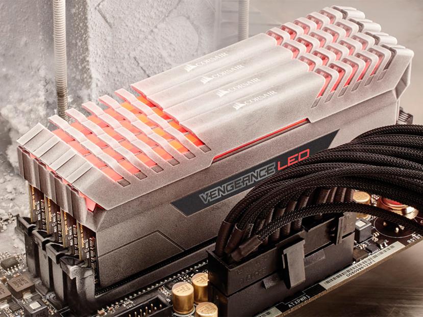Llegan las memorias DDR4 Corsair Vengeance LED, Imagen 1