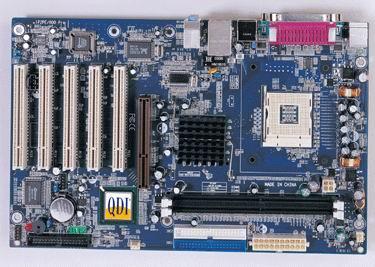 QDI lanza las nuevas placas base P2PE/800 PRO y K7V400A, Imagen 1