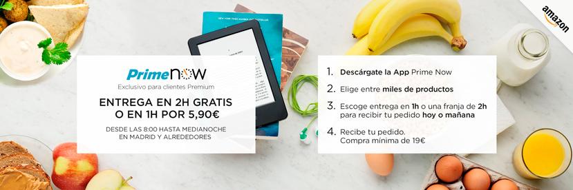 Amazon estrena Prime Now en Madrid, envíos en tan solo 1 o 2 horas, Imagen 1