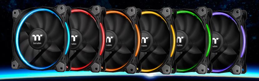 Thermaltake Riing 12 TT Premium, ventiladores RGB para radiadores de Refrigeración Líquida, Imagen 1