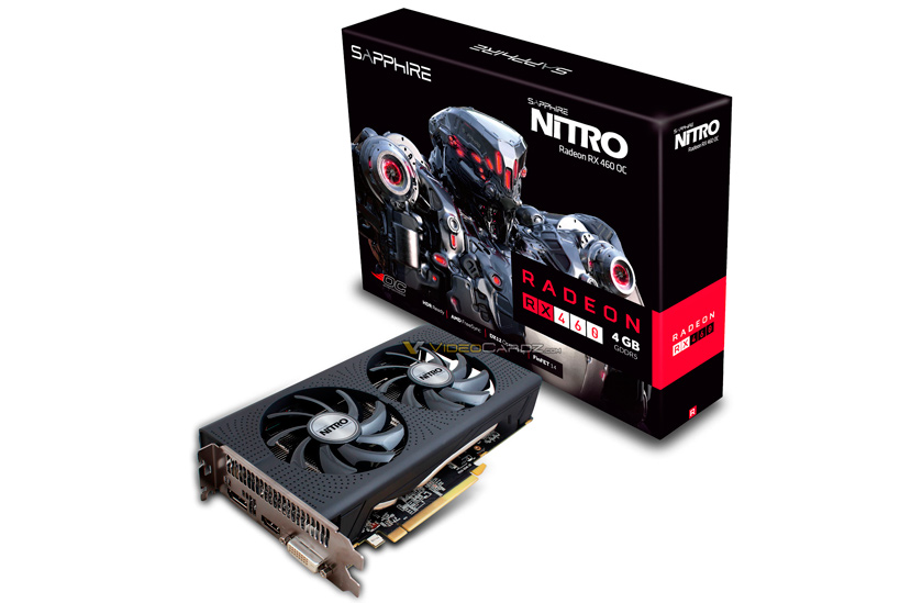 Filtrada la Radeon RX 460 Nitro OC de Sapphire, Imagen 1