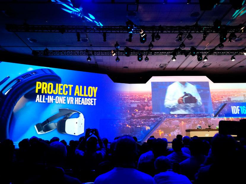 Intel nuncia Alloy, unas gafas de realidad virtual AiO con detección de objetos reales, Imagen 1