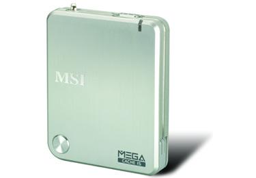 [CeBit] MSI presenta la nueva unidad de almacenamiento USB MEGA Cache 15, Imagen 1