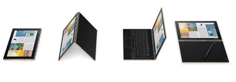 Lenovo se decanta por un teclado táctil en su nuevo convertible Yoga Book, Imagen 3