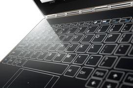 Lenovo se decanta por un teclado táctil en su nuevo convertible Yoga Book