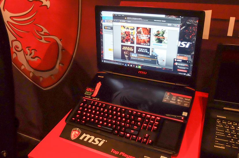 Llega a España el portátil MSI GT83VR con 2 GTX 1080 en SLI, Imagen 1