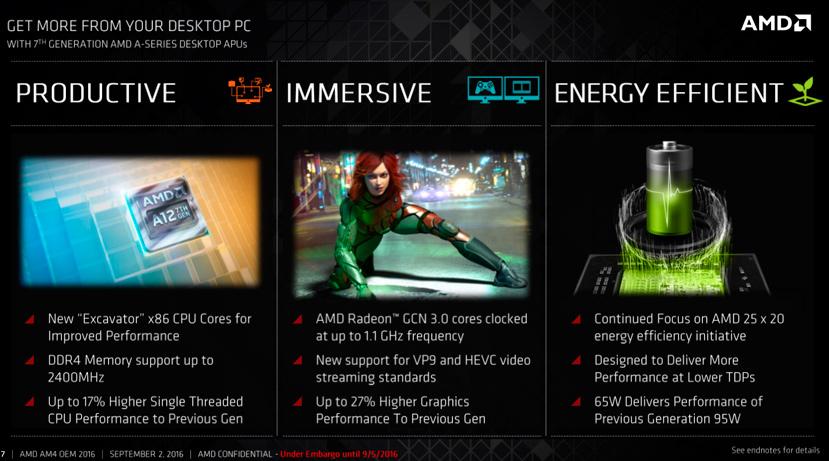 Ya disponibles primeros equipos con procesadores AMD Bristol Ridge y socket AM4 con DDR4, Imagen 1