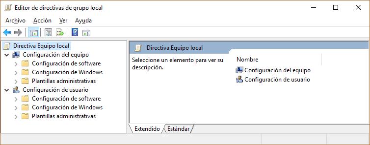 Control de Usuario
